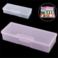 Nail Art Storage Empty Container Organizer Case Box Plastic Manicure Tools L