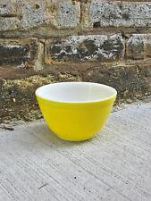 Vintage Pyrex Yellow 401 Bowl Nesting Mixing Bowl Small Bowl Kitchen Milk Glass