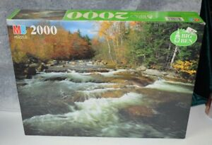 Vintaage jigsaw puzzles 2000 pieces Never Opened #4565-12