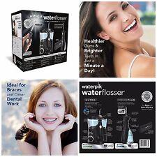 Waterpik Ultra Water Flosser Combo Flossing Oral Care Braces Teeth Clean Black