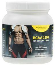 BCAA 1100 Maximum Caps, 300 Kapseln in Spitzenqualität, mit Vitamin B6, Amino