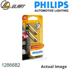 LICENCE PLATE LIGHT BULB FOR FORD OPEL ESCORT II ATH G1 G2 J1F J2 J3 LC PHILIPS