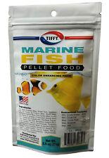 NEW 2.5 oz MARINE FISH FORMULA 1MM PELLET NATURAL COLOR ENHANCING SINKING FOOD