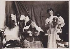 Marie De Vere Famous Sword Swallower & Jolly Irene? RARE 1920 photo 4.7x6.6 inch