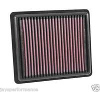 KN AIR FILTER (33-2880) REPLACEMENT HIGH FLOW FILTRATION