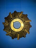 """GALTONG 7903 Side FACE Cutters arbor, 14 HSS Teeth 5"""" x 7/8"""" slotted bore 1 1/4"""""""