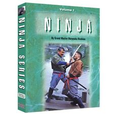 Ninja Style Kenjutsu Ninjitsu Training DVD Vol. 1 & 2