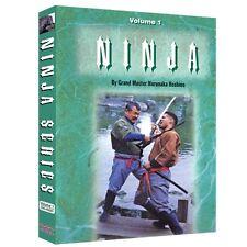 Ninja Style Kenjutsu Ninjitsu Training DVD Vol. 1 & 2
