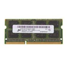 Micron 4GB Laptop Memory 2RX8 DDR3L 1600MHz 1.35V PC3L-12800S 204PIN SO-DIMM RAM