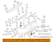 NISSAN OEM Rear Bumper-Bumper Cover Clip 0155309241