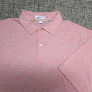 PETER MILLAR SOFT POLY LYOCELL SPANDEX GOLF SHIRT--L-EXCEPTIONAL QUALITY!