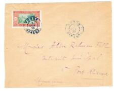 Senegal Sc#105(single frank)-Podor 7/Nov/33(blue)-To Port Etienne Mauritania