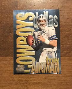 Troy Aikman 1997 Skybox Impact Super Boss 2 SB Dallas Cowboys HOF