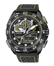 CITIZEN JW0125-00E Eco-Drive Promaster World Time Chronograph Men's Racing Watch
