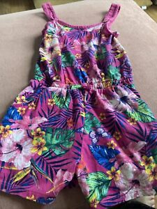 George Girls Summer Jumpsuit Age 8-9 Years