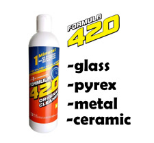 12 Oz Formula 420 Glass Pyrex Metal Ceramic Cleaner 1 Minute Perfect Cleaning