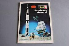 X551 REVELL Cataloguegeneral maquette 1970 56 pages 28*21 fusée voilier voiture