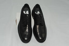 $450 NWOT Aquatalia Men's Leather Wingtip Oxford Dress Shoes 8.5 Made in It
