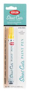Yellow Short Cuts Paint Pen Marker by Krylon no. SCP-906 NEW