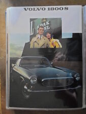 VOLVO 1800S SPORTS CAR orig 1968 Canadian Mkt Sales Brochure - P 1800 S