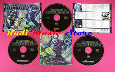 CD The Masochist Miro Neophyte ‎Heroes Of Hardcore Compilation no mc dvd(C40)