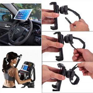 Car Mount Portable 360° Rotation Steering Wheel Tablet/Cell Phones Mount Holder