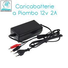Caricabatterie 12V 2A per batterie al piombo