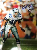 Bill Bates Autographed Signed Dallas Cowboys  8x10  photo -Gdst Hologram C