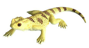 Bearded Dragon Lizard Replica Animals of Australia Australian Reptile Model