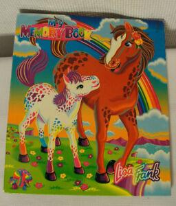 Vintage Lisa Frank My Memory Book 3 Ring Binder Rainbow Chaser & Lollipop