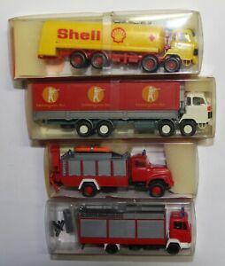 RMM Roskopf Miniatur-Modelle LKWs in OVP Nr. 411, 418, 442, 462