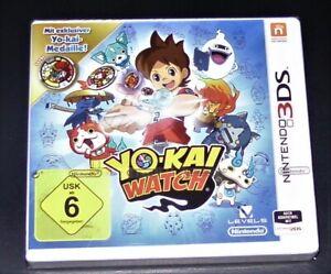 Yo Kai Watch + Con Esclusivo Medaglia Per Nintendo 3DS Nuovo & Conf. Orig.