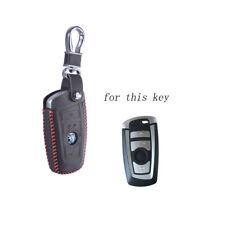 Leather Key Cover for BMW 5 X1 M1 GT F07 F10 F11 520 525 520I 530D E34 E46 E60