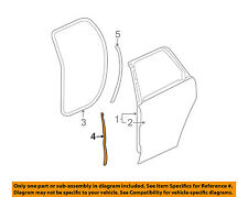 GM OEM Rear Door-Front Weatherstrip Seal Right 22912587