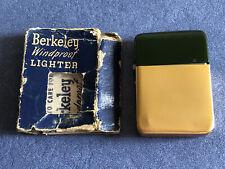 Vintage Berkeley Windproof Pocket Cigarette Ligther, Circa 1960