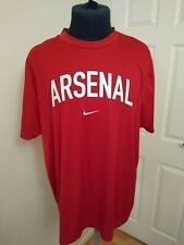 Nike Fit Dry XXL Arsenal Red Training Top Official