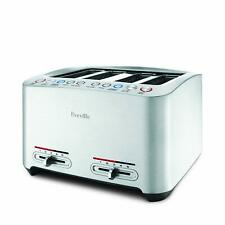 Breville the Smart Toast 4 Slice Toaster - Brushed Stainless Steel