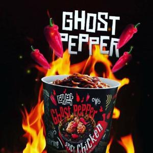 Mamee Daebak Instant Ramen Noodle Korean Ghost Pepper Hot Spicy Chicken Cup 80g