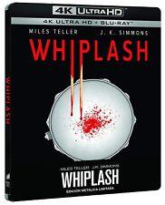 WHIPLASH BLU RAY ULTRA HD 4K EDICON METALICA STEELBOOK NUEVO ( SIN ABRIR )