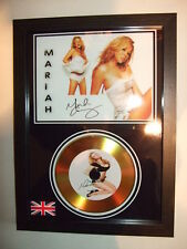 MARIAH  CAREY   SIGNED  GOLD CD  DISC 3