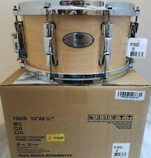 Pearl Reference 13x6.5 MAKE OFFER Snare Drum Natural Maple NEW Authorized Dealer