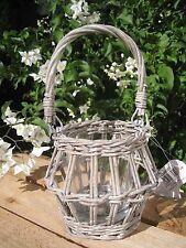 """Windlicht Laterne """"Willow"""" Sommer Garten Terrasse Weide Natur Shabby Deko"""