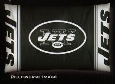New York NY Jets NFL 20x30 Standard Pillowcase Sham Set of 2