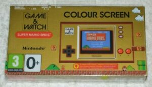 GAME & WATCH SUPER MARIO BROS. NINTENDO 35TH ANNIVERSARY LIMITED EDITION  NEW!