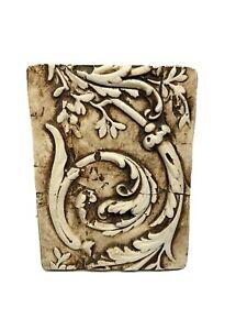 VTG Sid Dickens Memory Block Tile PQ14 ITALIAN MOULDING Retired Wall Art RARE