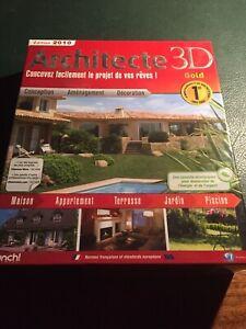 Architecte 3D gold