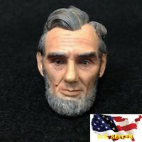 1/6 Abraham Lincoln Head Sculpt for President of the United State Hot toys ❶USA❶