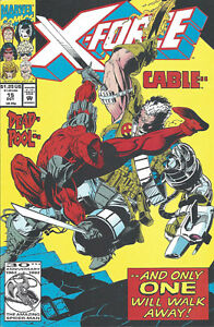 X-Force #15 (Oct 92) - Cable leaves X-Force - Deadpool - VF+