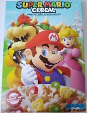 NEW 2018 SUPER MARIO CEREAL LIMITED EDITION NEW BOX STYLE FREE WORLD SHIPPING