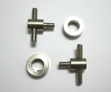 New 2 Sets tattoo machines parts Front Vice Screw tattooing supplier